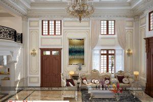 9 Mẫu nội thất phòng khách phong cách tân cổ điển tại sài gòn sh btp 0130