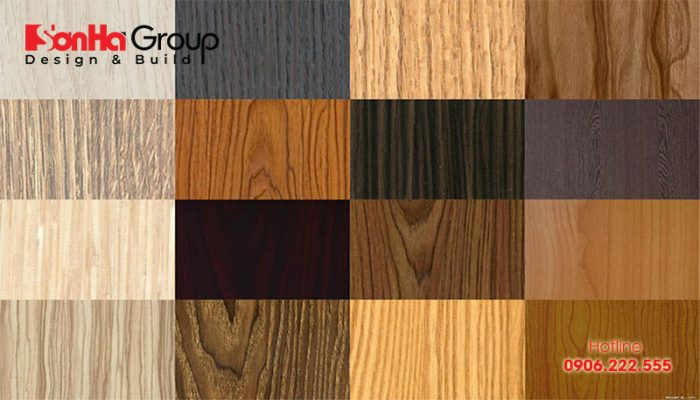 Gỗ MFC có cấu tạo từ các loại cây gỗ thu hoạch ngắn ngày như keo, bạch đàn