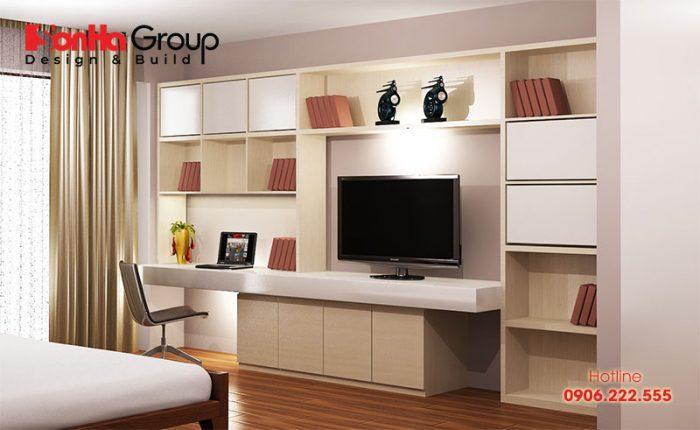 Những mẫu kệ trang trí được yêu thích nhất trong thiết kế phòng ngủ