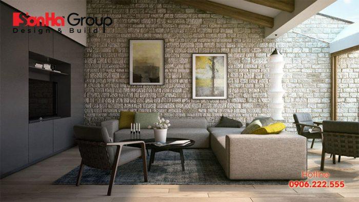 Ốp tường phòng khách với các bước thực hiện chuyên nghiệp dễ thực hiện