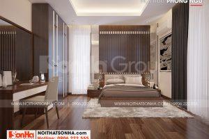 12 Không gian nội thất phòng ngủ 2 biệt thự hiện đại đẹp tại hải phòng sh btd 0075