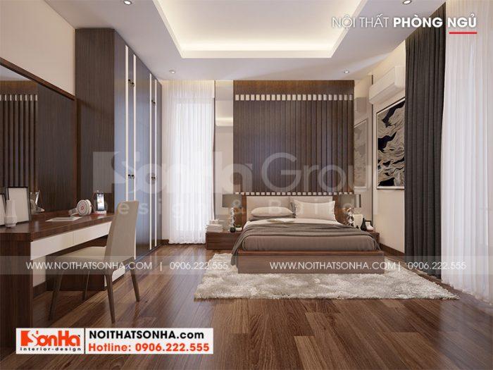 Xu hướng bày trí phòng ngủ đẹp, nhẹ nhàng với kiểu dáng đơn giản, trang trọng đúng sở thích chủ nhân đặt ra