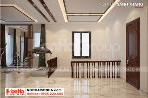 15 Thiết kế nội thất sảnh thang biệt thự hiện đại mái thái tại hải phòng sh btd 0075