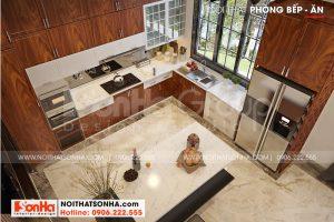 8 Cách bố trí nội thất phòng bếp biệt thự hiện đại đẹp tại hải phòng sh btd 0075
