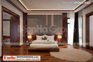 9 Nội thất phòng ngủ vip biệt thự phong cách hiện đại mặt tiền 12,3m tại hải phòng sh btd 0075