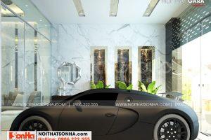 1 Thiết kế nội thất gara đẹp wfc 006