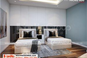 6 Thiết kế nội thất phòng ngủ khách đẹp wfc 006