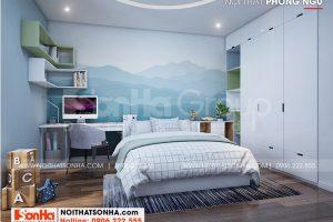 8 Không gian nội thất phòng ngủ con trai ấn tượng wfc 006