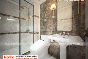 11 Thiết kế phòng tắm wc nhà ống tân cổ điển mái thái tại sài gòn sh nop 0193
