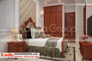 5 Cách bố trí nội thất phòng ngủ 1 nhà ống tân cổ điển tại sài gòn sh nop 0193