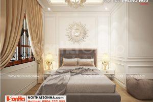 6 Thiết kế nội thất phòng ngủ 2 tân cổ điển 2 tầng tại sài gòn sh nop 0193