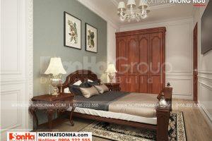 7 Mẫu nội thất phòng ngủ 3 nhà ống tân cổ điển mái thái tại sài gòn sh nop 0193