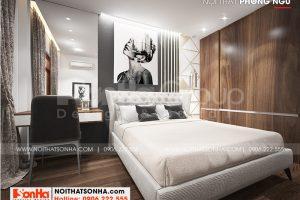 10 Trang trí nội thất phòng ngủ 3 nhà ống tân cổ điển mặt tiền 3,4m tại hà nội sh nop 0199