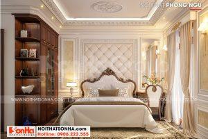 8 Mẫu nội thất phòng ngủ 1 nhà ống tân cổ điển đẹp tại hà nội sh nop 0199