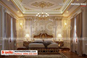 11 Cách trang trí nội thất phòng ngủ vip 2 biệt thự lâu đài đẹp tại hà nội sh btld 0040