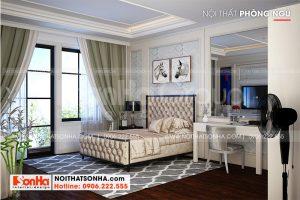 13 Thiết kế nội thất phòng ngủ tầng 5 nhà ống hiện đại kết hợp kinh doanh tại hà nội sh nod 0211