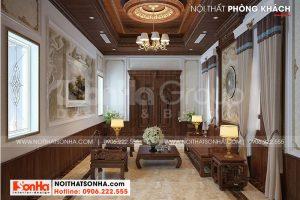 4 Không gian nội thất phòng khách kiểu tân cổ điển tại hải phòng sh btp 0139