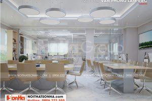 6 Mẫu nội thất phòng làm việc tầng 3 nhà ống hiện đại đẹp tại hà nội sh nod 0211