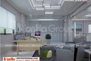 7 Không gian nội thất phòng giám đốc nhà ống hiện đại 6 tầng tại hà nội sh nod 0211