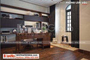7 Thiết kế nội thất phòng làm việc biệt thự khu đô thị vinhome inperia hải phòng