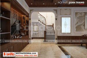 7 Thiết kế nội thất sảnh thang biệt thự tân cổ điển mặt tiền 9m tại hải phòng sh btp 0139