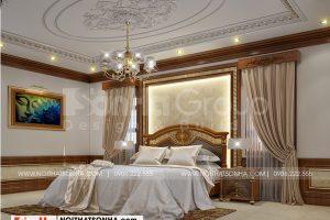 9 Không gian nội thất phòng ngủ 2 biệt thự tân cổ điển có sân vườn tại hải phòng sh btp 0139