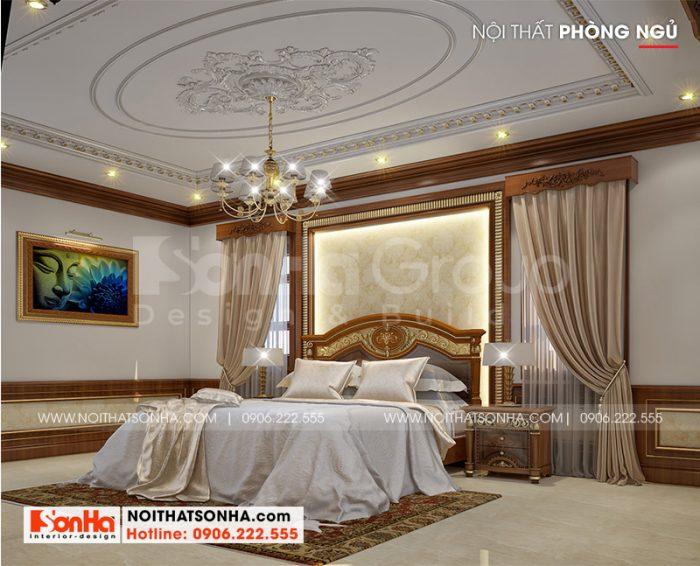 Căn phòng ngủ phong cách tân cổ điển đẹp của Sơn Hà mang cá tính riêng biệt của gia chủ