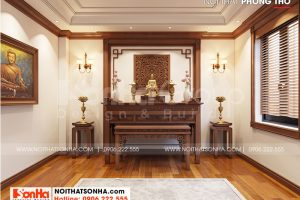 10 Không gian nội thất phòng thờ biệt thự khu đô thị vinhomes imperial