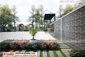 14 Trang trí tiểu cảnh sân vườn biệt thự khu đô thị vinhomes imperial