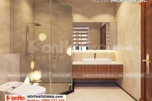 15 Không gian nội thất phòng tắm wc biệt thự khu đô thị vinhomes imperial