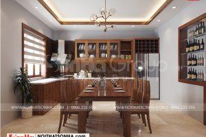 2 Cách trang trí nội thất phòng bếp ăn cao cấp tại hải phòng