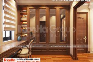 5 Không gian nội thất thay đồ phòng ngủ master 1 biệt thự khu đô thị vinhomes imperial