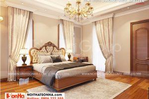 6 Mẫu nội thất phòng ngủ master 2 biệt thự khu đô thị vinhomes imperial