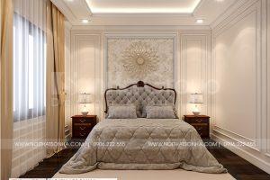 7 Mẫu nội thất phòng ngủ biệt thự tân cổ điển sh btp 0147