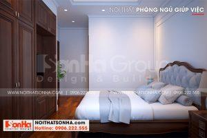 7 Thiết kế nội thất phòng ngủ giúp việc biệt thự khu đô thị vinhomes imperial