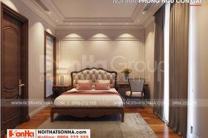 8 Trang trí nội thất phòng ngủ con gái biệt thự khu đô thị vinhomes imperial