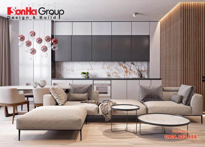 Khi đã quyết định được màu chủ đạo của phòng khách, bạn nên chọn nội thất dựa trên tông màu đó