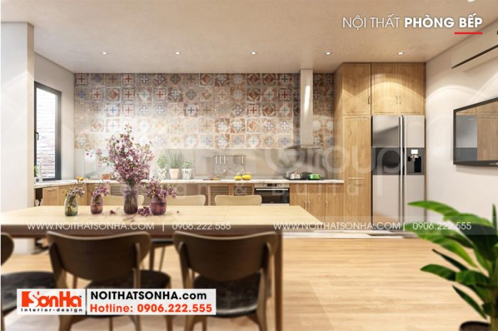 Cách bố trí nội thất phòng bếp ăn hiện đại đẹp và phong thủy được gia chủ đánh giá cao
