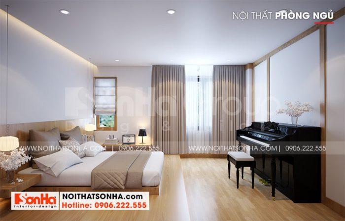 Ý tưởng trang trí nội thất phòng ngủ hiện đại rộng rãi và thoáng đãng