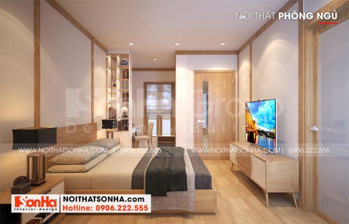 Ý tưởng trang trí phòng ngủ master đẹp, hiện đại với nội thất gỗ tinh tế, ấm cúng và sang trọng