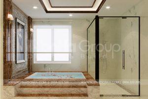 10 Thiết kế nội thất phòng tắm nhà phố liền kề tại khu đô thị waterfront hải phòng wfc 008