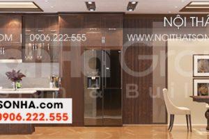 11 Bố trí nội thất phòng bếp ăn đẹp tại khu đô thị waterfront hải phòng wfc 008