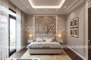 11 Không gian nội thất phòng ngủ 3 kiểu tân cổ điển tại quảng ninh