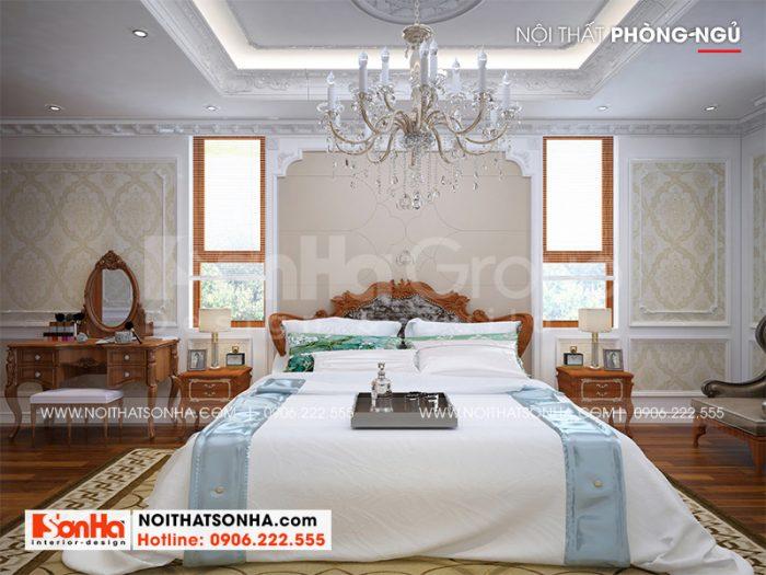 Ý tưởng thiết kế nội thất phòng ngủ gọn gàng, ngăn nắp trong không gian không quá rộng