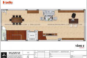 13 Bản vẽ tầng 2 nhà phố liền kề tại khu đô thị waterfront hải phòng wfc 008