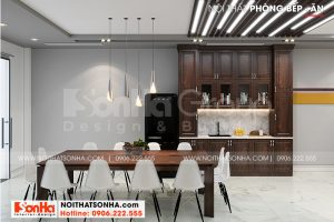 2 Trang trí nội thất phòng bếp cao cấp tại khu đô thị waterfront hải phòng wfc 008