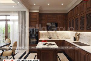 2 Trang trí nội thất phòng bếp đẹp tại quảng ninh