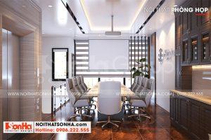 4 Không gian nội thất phòng họp kiểu hiện đại tại khu đô thị waterfront hải phòng wfc 008
