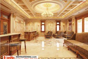 4 Trang trí nội thất khu văn phòng biệt thự tân cổ điển tại an giang sh btp 0150