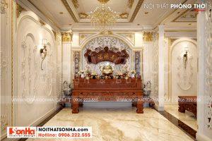 5 Bố trí nội thất phòng thờ tôn nghiêm tại vĩnh long sh btp 0145